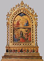 Annunciation and Adoration of the Magi, c.1424, angelico