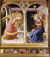 Annunciation, c.1435, angelico