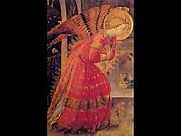 Annunciation (detail), angelico