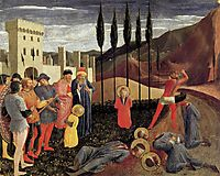 Beheading of Saint Cosmas and Saint Damian, 1440, angelico
