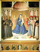 Bosco ai Frati Altarpiece, c.1450, angelico