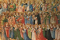 Christ Glorified in the Court of Heaven, 1430, angelico