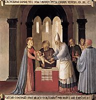 Circumcision, 1452, angelico