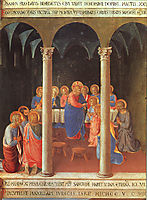 Communion of the Apostles, 1452, angelico