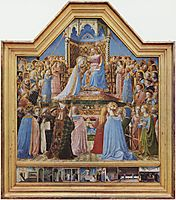 Coronation of the Virgin, 1435, angelico