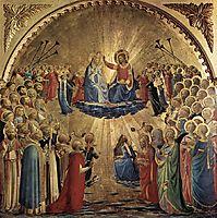 The Coronation of the Virgin, 1435, angelico