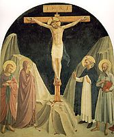 Crucified Christ with Saint John the Evangelist, angelico