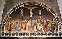 Crucifixion and Saints, 1442, angelico