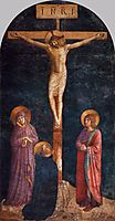 Crucifixion with St. Dominic, 1445, angelico