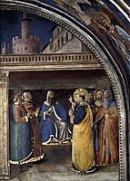 Dispute before Sanhedrin, 1449, angelico