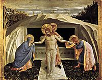 Entombment, 1440, angelico