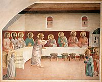 Institution of the Eucharist , 1442, angelico