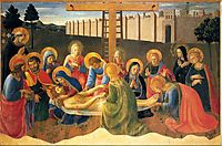 Lamentation over Christ, 1441, angelico