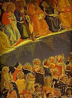 The Last Judgement. Detail: The Blessed, c.1431, angelico