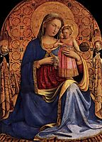 Madonna and Child, c.1433, angelico