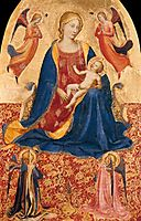 Madonna of Humility, c.1418, angelico
