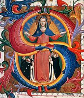 Madonna of Mercy with Kneeling Friars, angelico