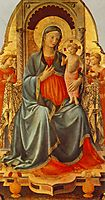 Madonna with the Child and Angels, angelico