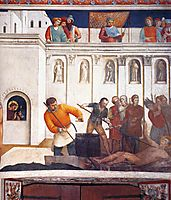Martyrdom of St. Lawrence, 1449, angelico