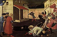 The Martyrdom of St. Mark, c.1433, angelico