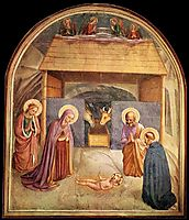 Nativity , 1441, angelico