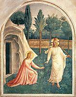 Noli Me Tangere, 1442, angelico