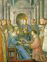 The ordination of St. Lawrence , angelico