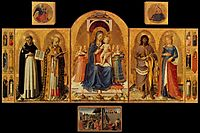 Perugia Altarpiece, 1448, angelico