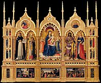 Perugia Altarpiece , 1448, angelico