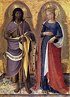 Perugia Altarpiece (right panel), 1448, angelico