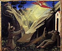 Receiving the Stigmata, c.1429, angelico