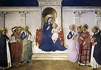 Sacred Conversation, 1443, angelico