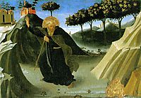 Saint Anthony the Abbot Tempted by a Lump of Gold, 1436, angelico