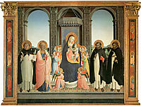 San Domenico Altarpiece, 1430, angelico