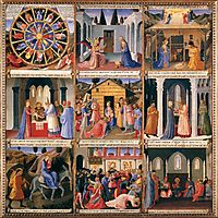 Scenes from the Life of Christ, 1452, angelico