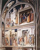 Scenes from the Lives of Sts. Lawrence and Stephen, 1449, angelico