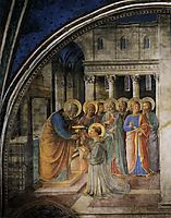 St. Peter Consacrates Stephen as Deacon, 1449, angelico