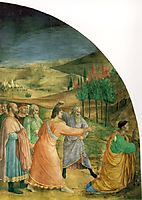 The stoning of Stephen, 1449, angelico