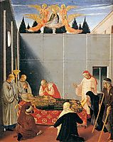 The Story of St. Nicholas: The Death of the Saint, 1448, angelico