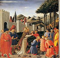 The Story of St. Nicholas: The Liberation of Three Innocents, 1448, angelico
