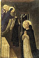 The Virgin Consigns the Habit to St. Dominic, 1434, angelico