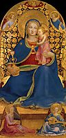 The Virgin of Humility, 1445, angelico