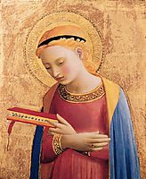 Virgin Mary Annunciate, 1433, angelico