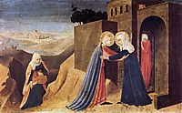 Visitation, 1434, angelico