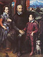 Family Portrait, Minerva, Amilcare and Asdrubale Anguissola, 1557, anguissola