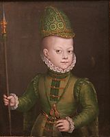 Portrait of a Boy at the Spanish Court, 1570, anguissola