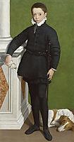Portrait of Massimiliano Stampa, 1557, anguissola