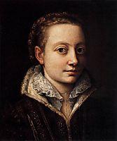 Portrait of Minerva Anguissola, anguissola