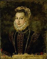 Portrait of Queen Elisabeth of Spain, 1599, anguissola