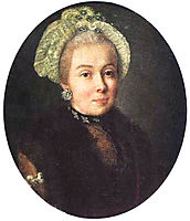 Portrait of an Unknown Lady, c.1760, antropov